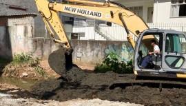 Revitalização do Rio Marambaia iniciou nesta quinta-feira
